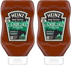 product image for Heinz BBQ Sauce - Carolina - Vinegar Style Tangy - Net Wt. 18.6 OZ (527 g) Per Bottle - Pack of 2 Bottles