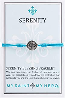 my saint my hero benedictine blessing bracelet