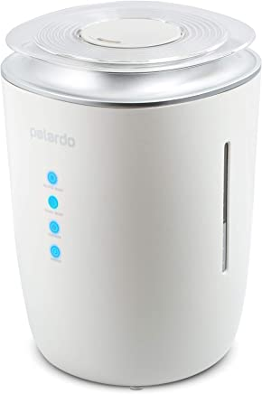 Ultrasonic Cool and Warm Mist Humidifier — Whisper Quiet Humidifier for Bedroom, Living Room, Babies, Home and Office — 4l Large Capacity, 24h Humidifying, Auto Shut-Off and Energy Efficient
