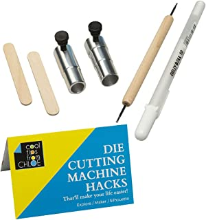 Chomas Creations Adjustable Marker and Pen Holders for The Maker, Stylus and White Gel Pen with Die Cutting Machine Hacks