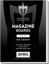 Magazine Backing Boards (100 Count), 8.5 x 11