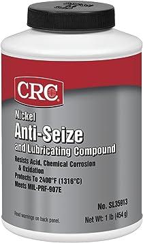 CRC SL35911 Nickel Anti-Seize Lubricating Compound - 8 wt. oz.: image