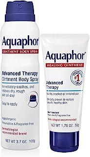 Aquaphor Aquaphor Healing Bundle (2 Pack) - 1.75 Oz Healing Ointment and 3.7 Oz Body Spray, 5.45 ounces