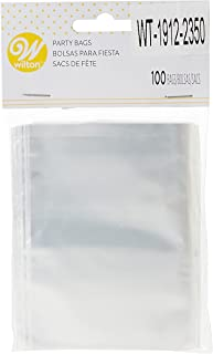 Wilton Clear Treat Bags Packet 100 Pieces, WT-1912-2350, Clear, Plastic
