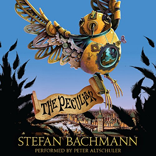 The Peculiar audiobook cover art
