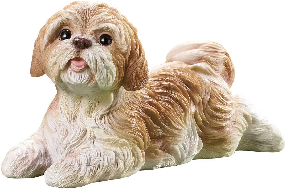 Never Used 2 34 Perfect Condition Resin Sold As Is VINTAGE SHIH TZU New