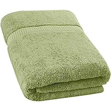 Utopia Towels Soft Cotton Machine Washable Extra Large Bath Towel (35 X 70 Inches) Luxury Bath Sheet Sage Green