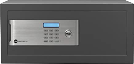 Yale 05544000-2, Cofre Certificado Sold Secure  Laptop, Preto , YALE