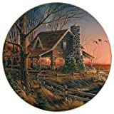 Wild Wings Comforts of Home Collector Plate by Terry Redlin