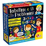 Lisciani Giochi- Tabelline e Problemini Giochi Educativi, Multicolore, 48885 (Giocattolo)