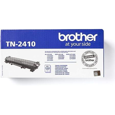 Brother TN2410 Toner Originale Capacità Standard, fino a 1200 Pagine, per Stampanti MFCL2710DW/MFCL2710DN/MFCL2730DW/MFCL2750DW/DCPL2510D/DCPL2550DN/HLL2310D/HLL2350DW/HLL2370DN/HLL2375DW, Nero