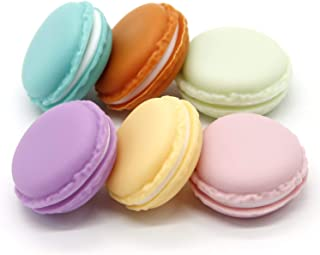 Macaron Case, 6 pcs Mini Macaron Box, Macaron Jewelry Box, Macaron Cute Pill Box, Colorful Macaron Jewelry Storage Box, Sh...