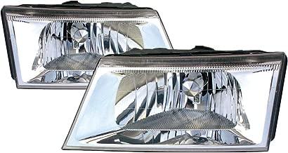 Headlight Headlamp For Mercury Grand Marquis Driver Left and Passenger Right Pair Set 2003 2004
