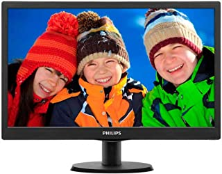 Philips 18.5 inch LED Monitor with a Stand, Black, 193V5LSB2-01