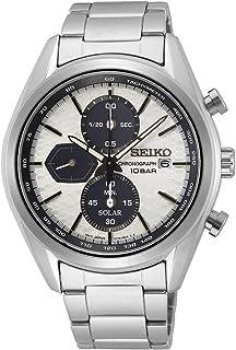 Seiko Chronograph Stainless Steel Solar Watch SSC769P1 white