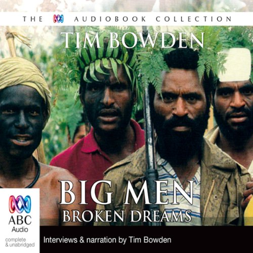 Big Men, Broken Dreams audiobook cover art