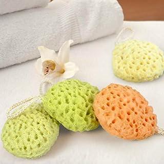 Hinmay - Esponja de baño para bebé, esponja de mar natural