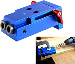 Taladro Gu/ía Home Punch Carpinter/ía Agujero Armario Ajustable Hardware Perforaci/ón Ligero Multifuncional 41/×31 cm