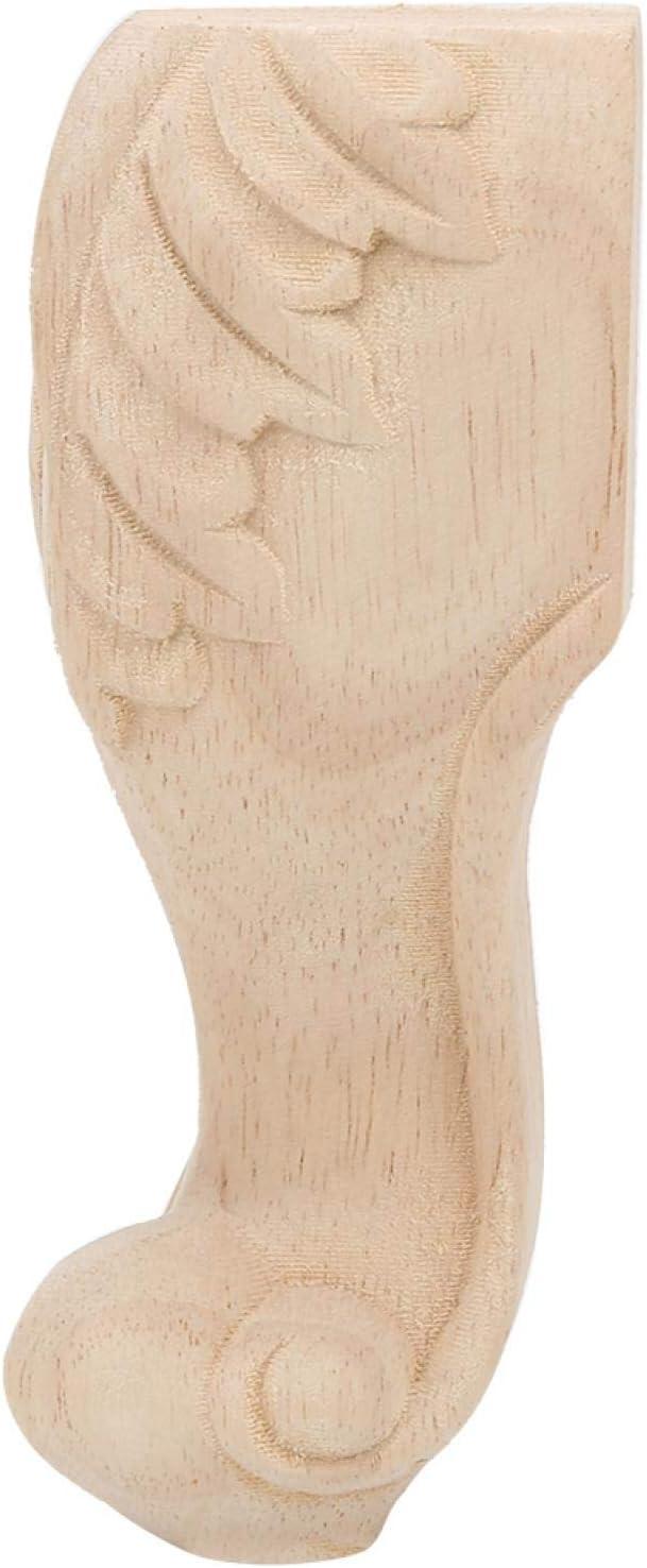 Socobeta Rubber Wood Furniture Foot Legs Couch Bathroom 35% OFF for Spasm price Vani