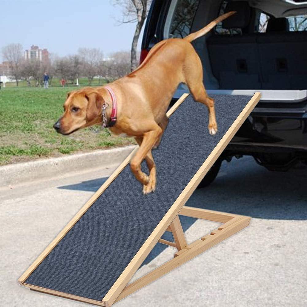 Ljkd Hunderampe Auto Hundetreppe Autorampe Für Hunde Hundeautorampe Kofferraumrampe Für Haustiere Klappbar Hundetreppe Hunde Rampe Einstiegshilfe Ideal Für Autos Lkw 100 40cm Küche Haushalt