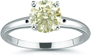 colored moissanite rings