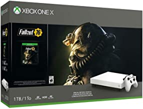 Xbox One X Fallout 76 1TB Robot White Special Edition Console Bundle