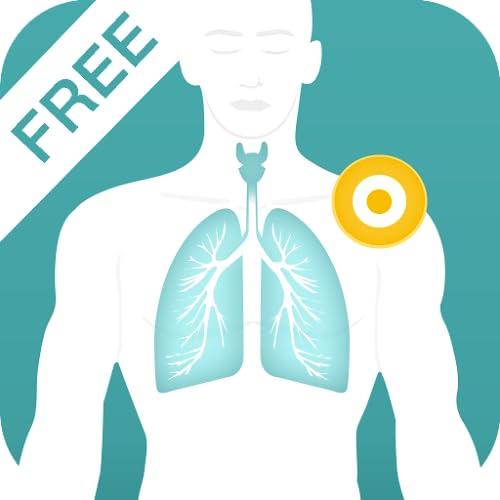 Asthma Soforthilfe mit Chinesischen Massage-Punkten - FREE Akupressur Trainer gegen Husten, Luftnot und Entzündung der Atemwege