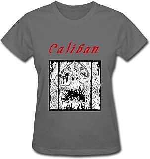 Lady Love Ring Spun Cotton Caliban T Shirt Size L Color DeepHeather