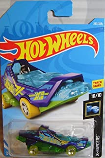 Hot Wheels 2018 Mainline X-Raycers 10/10 - Hover & Out [パープル/グリーン] - 国際カード