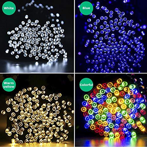 Olar-Lichterkette FüR Den AußEnbereich, Usb-Ladekabel, 8 Mod-Led-Lichter, GartenzubehöR