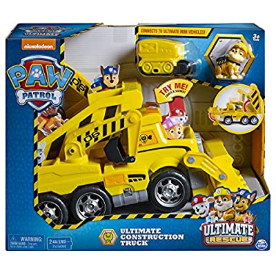 Patrulla Canina Camión Ultimate Construction (BIZAK 61926769) de Bizak