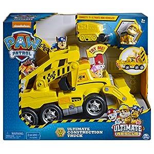 Patrulla Canina Camión Ultimate Construction (BIZAK 61926769)