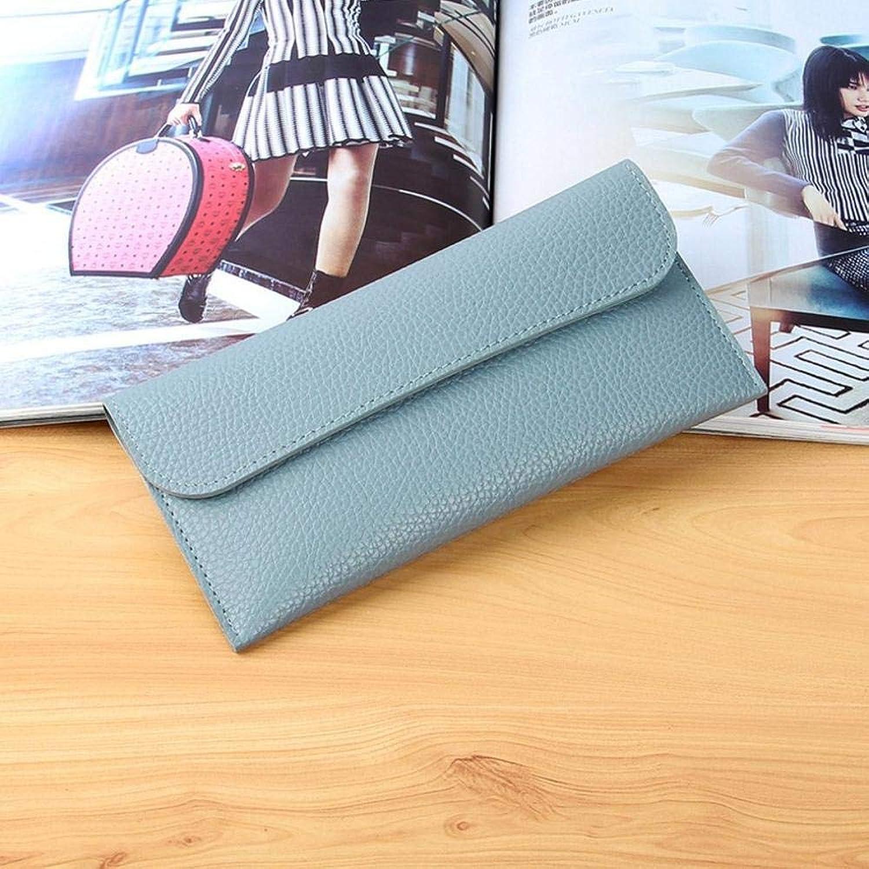 Girls Purse Women's Wallet,Lady Wallet Buckle PU Leather Wallet 19  10  2cm (color   E)