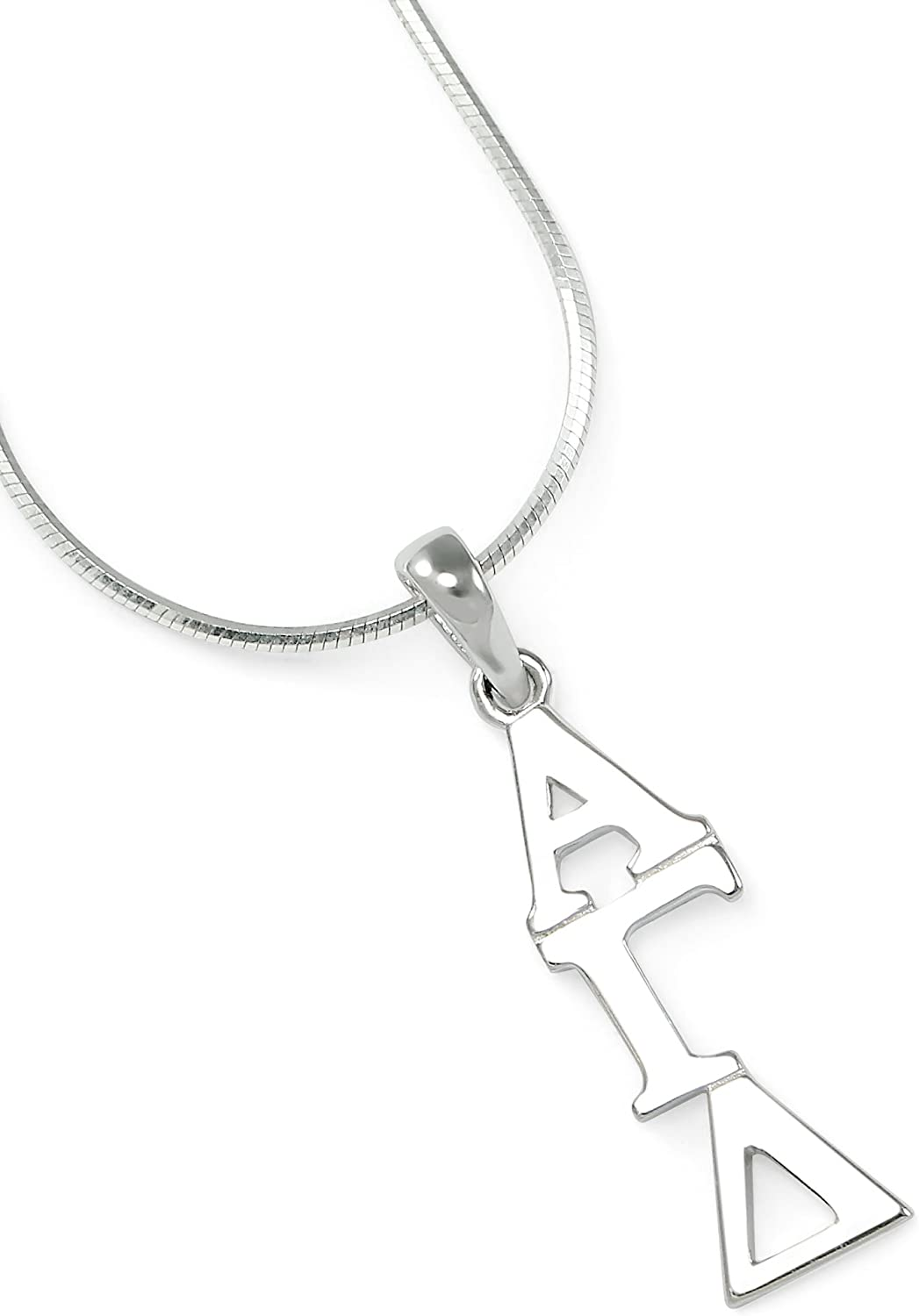 The Collegiate Standard Alpha Gamma Silv Cheap mail order shopping Sterling Delta Free Shipping Cheap Bargain Gift Sorority