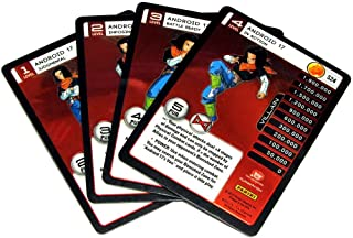 Panini Dragon Ball Z TCG 2015 Evolution Starter Set Set of 4 Android 17 Personality Fixed Single Cards
