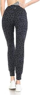 Leggings Depot Women's ActiveFlex Slim-fit Print Joggers with Pockets