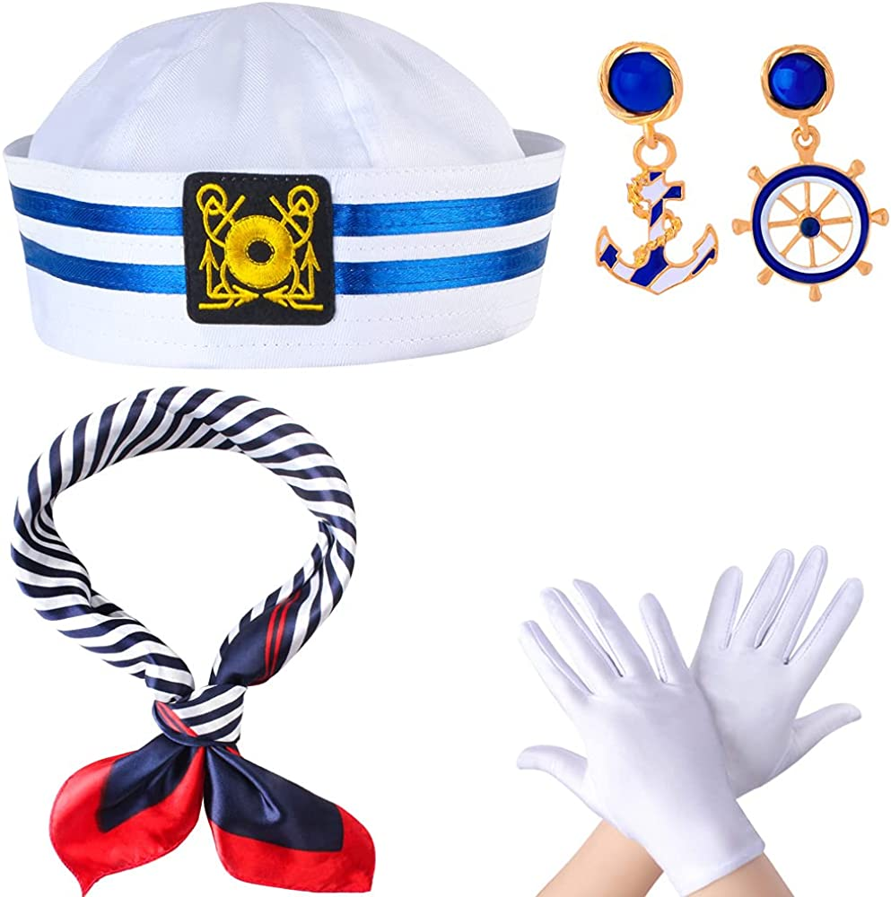 Yewong Women's Sailor Ranking TOP12 Costume Accessory Challenge the lowest price of Japan with Nautical Hat