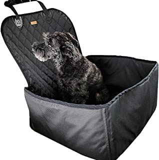 WAFOR Dog Booster Car Seats,Waterproof Breathable Pet Dog Cat Car Booster Seat Deluxe Portable Travel Car Seat Dog Travel Dog Bed For Small Dogs Puppies