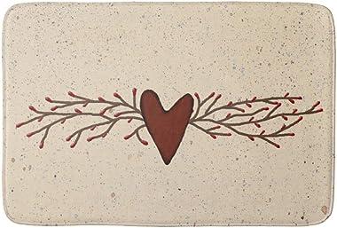 Pip Berry Heart Bath Door Mat Indoor 23.6 x 15.7 inch