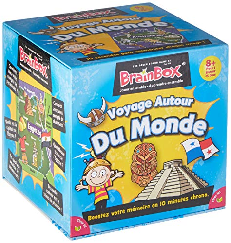 The Green Board Game Co. BrainBox – Voyage autour du Monde