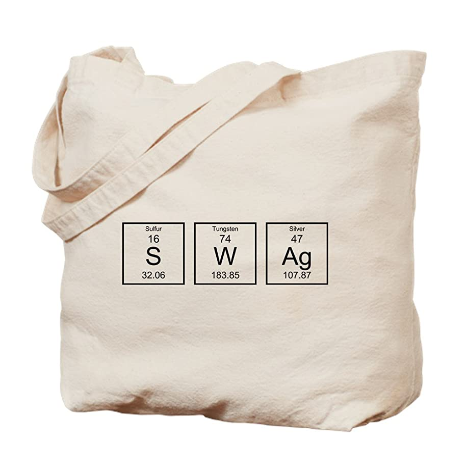 CafePress Periodic Table Swag Natural Canvas Tote Bag, Cloth Shopping Bag qjkhuwyk3654