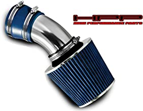 High performance parts Short Ram Air Intake Kit & Blue Filter Combo Compatible for 98 99 00 01 02 03 04 05 BMW E46 3-Series
