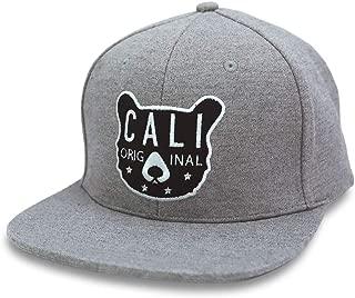 California Cali Bear Original Flat Bill Snapback Hat