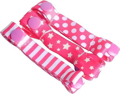 wholesale Larcele 3 Pack Baby Toys Stop Drop lowest sale Strap TCGS-01(Pink) sale