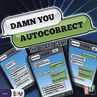 Damn You Auto Correct Board Game by Calendar Holdings