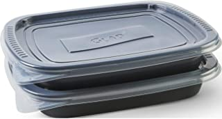 Glad Food Storage Containers - Glad OvenWare Container - 96 Ounce - 2 Containers (pack of 6)