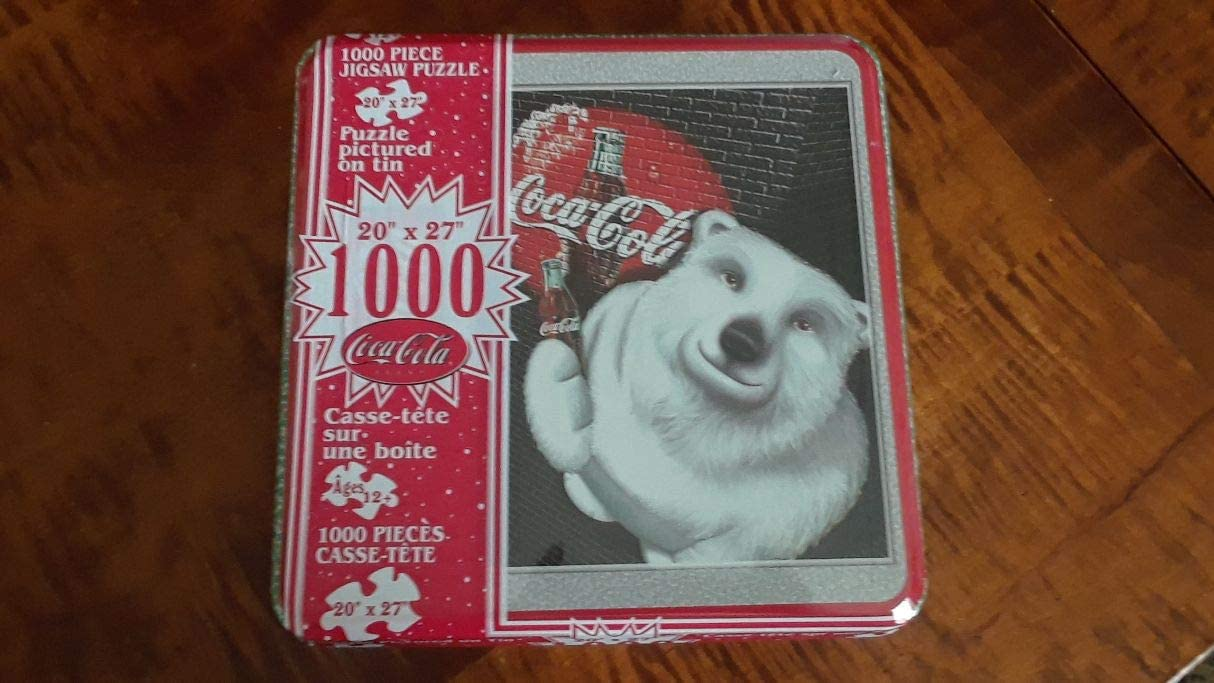 1998 Coca Cola Santa Tin Puzzle Holiday In Ranking TOP20 stock in