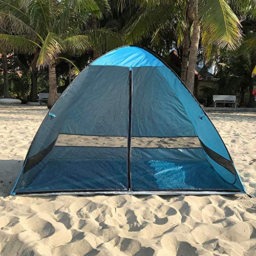 N \ A Beach Shade, Beach Tent, Anti UV Instant Portable Tent Sun Shelter, Pop Up Baby Beach Tent, for 2-3 Person
