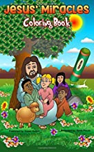 Jesus' Miracles Coloring Book: the Shoe box size