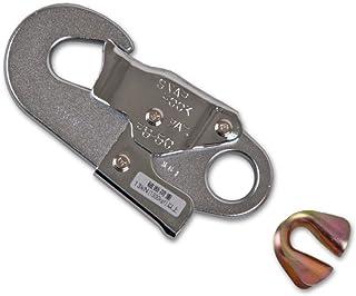 藤井電工 ツヨロン(TSUYORON) 安全帯用部品 安全帯用フック グレー FS-50C-JAN-HD
